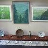 石鹿画廊二人展2の画像