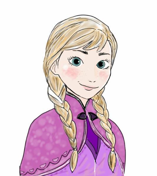 アナと雪の女王 イラスト 簡単
