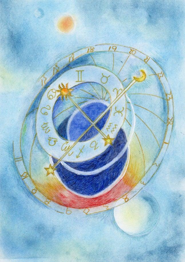 星占い 星読みちえの『惑星ノート』
