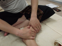 1day台湾式足ツボスクール受講風景1