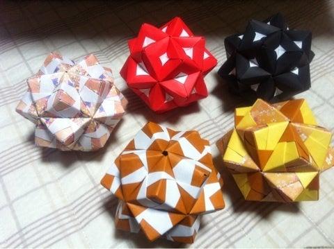 クリスマス 折り紙 折り紙 組み合わせ : ameblo.jp