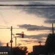 札幌の夕暮れ