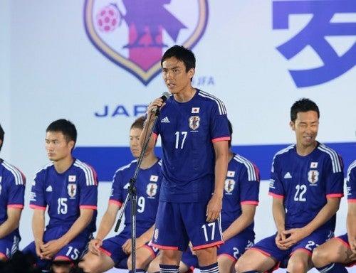 長谷部誠 サッカー日本代表 壮行会 ブラジル ワールドカップ W杯 キプロス