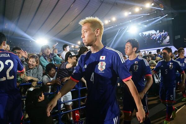 本田圭佑 サッカー日本代表 壮行会 ブラジル ワールドカップ W杯 キプロス