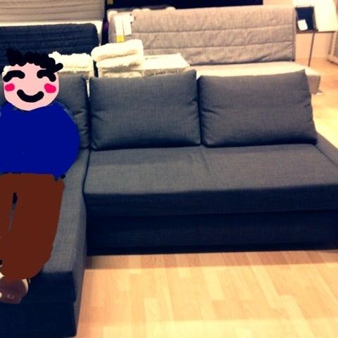 IKEA FRIHETEN コーナーソファベッドを作ってみた | mari色