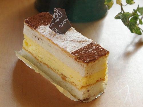 東区香椎 シェフジモトのケーキ「ミゼラブル」