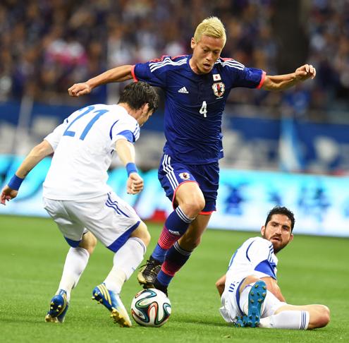 本田圭佑 サッカー日本代表 キプロス戦 壮行試合 ブラジルW杯 国内最終