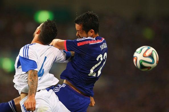 吉田麻也 復帰 サッカー日本代表 キプロス戦 壮行試合 ブラジルW杯 国内最終