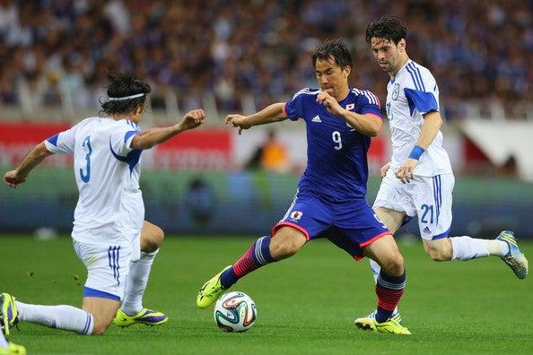 岡崎慎司 サッカー日本代表 キプロス戦 壮行試合 ブラジルW杯 国内最終