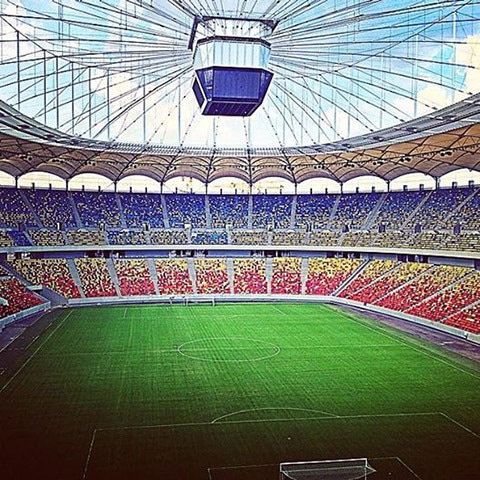 stadium in bucharest 1405