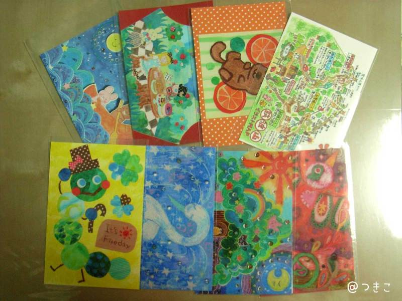 ARTs*LABoポスカ展 YHM2014 出展作品 ポストカード