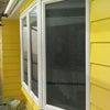 破風/軒天井/外壁下塗り…からの仕上げ二回塗りと養生撤去。の画像