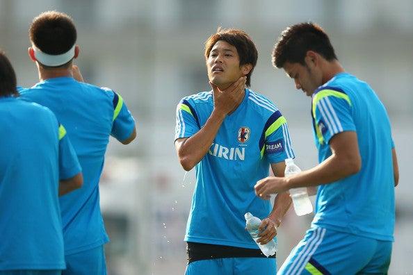 内田篤人 日本代表 ブラジル 2日目 ワールドカップ W杯 イトゥ初練習