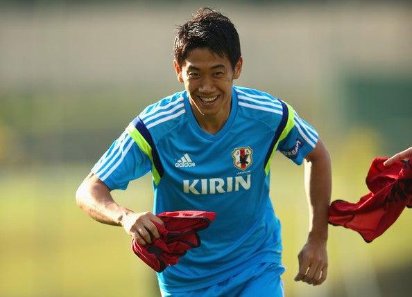 香川真司 日本代表 ブラジル 2日目 ワールドカップ W杯 イトゥ初練習