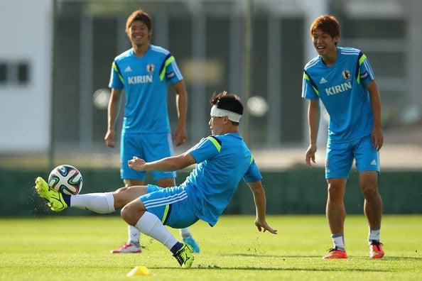 岡崎慎司 日本代表 ブラジル 2日目 ワールドカップ W杯 イトゥ初練習