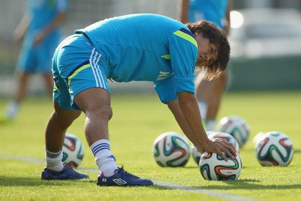 遠藤保仁 日本代表 ブラジル 2日目 ワールドカップ W杯 イトゥ初練習