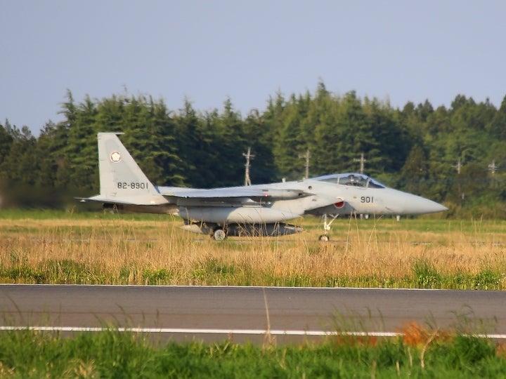 百里基地 F-15全機   Hi-ROAD