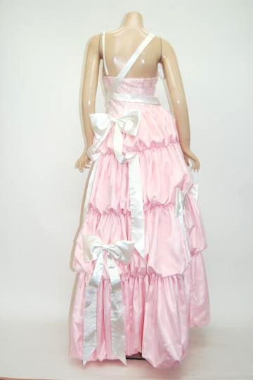 大ボリューム姫系 ロングドレス