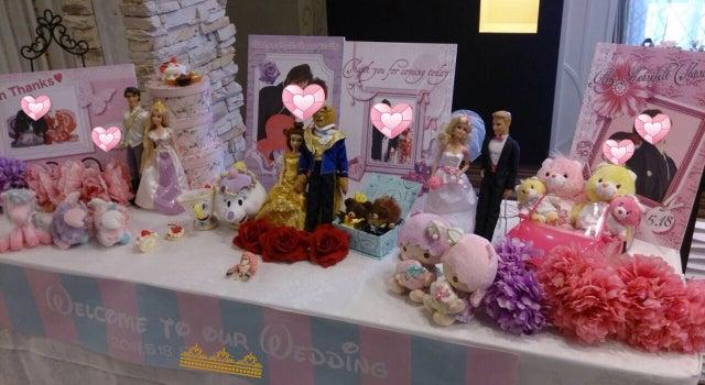 「ディズニープリンセス」がテーマの結婚式|結婚準備を楽しもう!シェリーマリエブログ