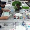 月に一度のデイサービスはがき絵教室へ・・・No.332   の画像