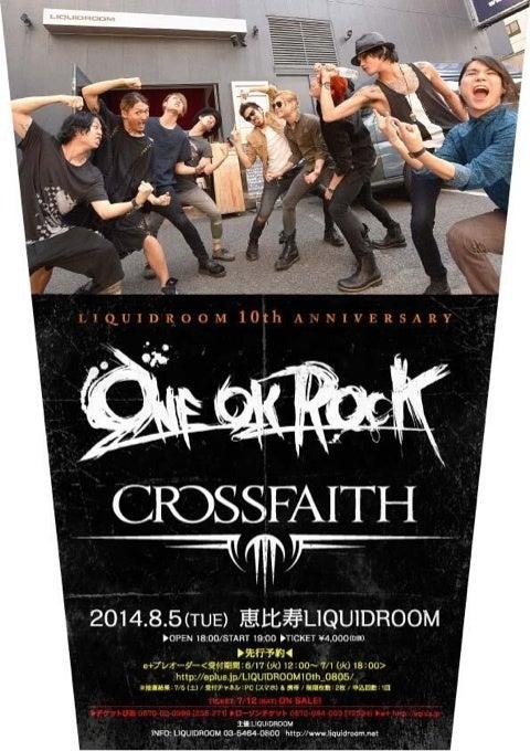 Crossfaith×ONE OK ROCK | ブログ