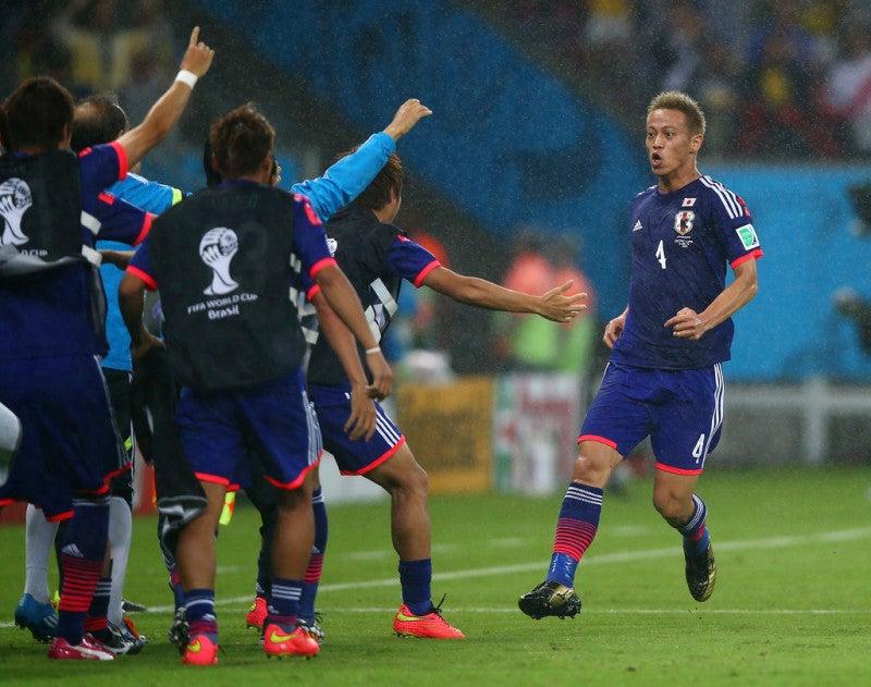 本田圭佑 先制 日本代表 ブラジルワールドカップ W杯 初戦 コートジボワール 逆転負け