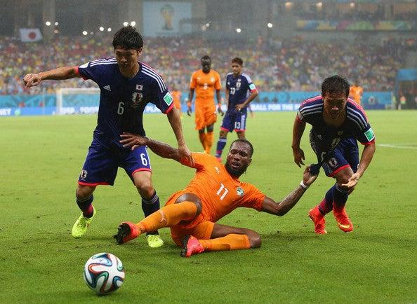 ドログバ 日本代表 ブラジルワールドカップ W杯 初戦 コートジボワール 逆転負け