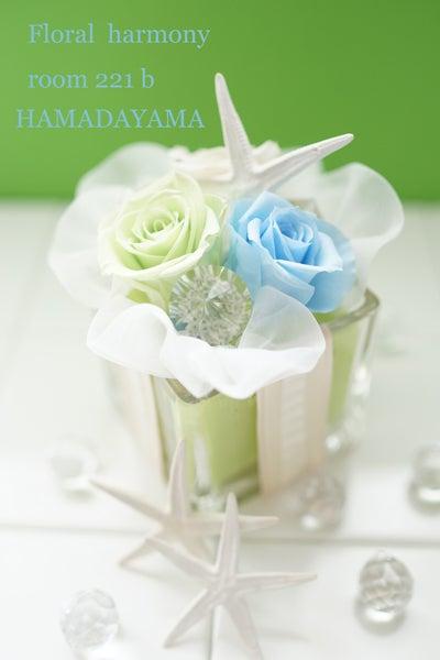【募集】涼しげガラスベースのサマーレッスンイベント@HAMADAYAMA♪の記事より