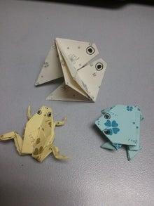 6月のニッポン塾のカエル