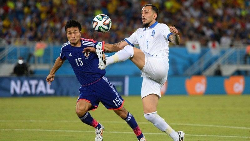 今野泰幸 ブラジルワールドカップ W杯 日本代表 ギリシャ スコアレスドロー グループC