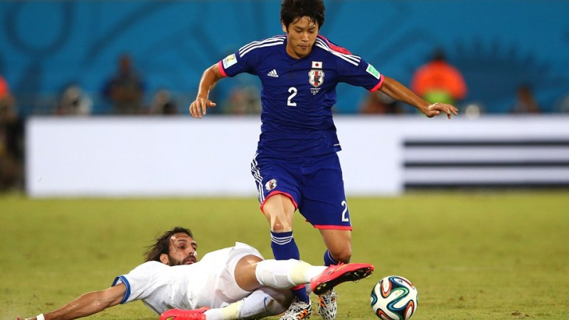 内田篤人 ブラジルワールドカップ W杯 日本代表 ギリシャ スコアレスドロー グループC
