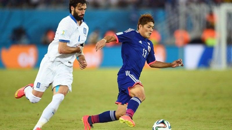 大久保嘉人 ブラジルワールドカップ W杯 日本代表 ギリシャ スコアレスドロー グループC