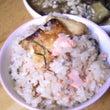 鮭の炊き込みご飯♪