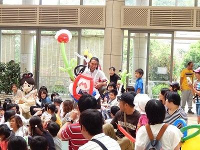 松江イングリッシュガーデン バルーンアート