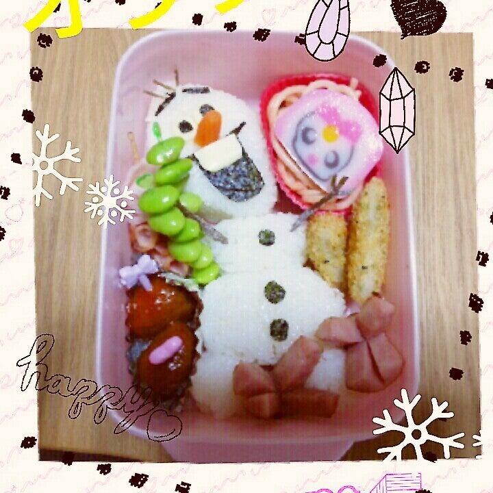 オラフ弁当♪