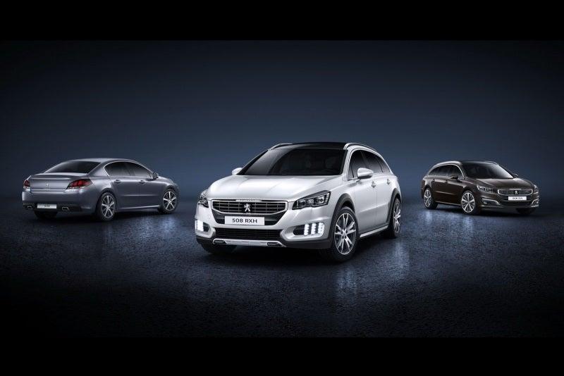 プジョーは、2015年モデルとしてフェイスリフトを予定する新型「508」、新型「508 SW」、新型「508 RXH」を正式に発表しました