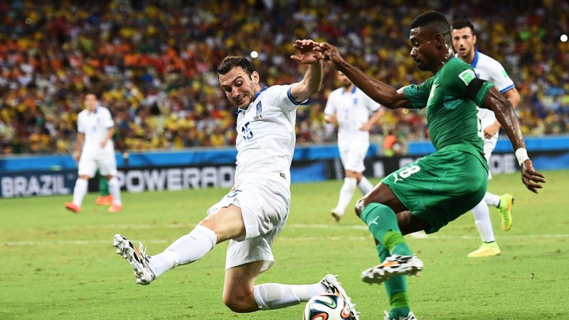 ブラジルワールドカップ W杯 ギリシャ コートジボワール グループC グループリーグ敗退