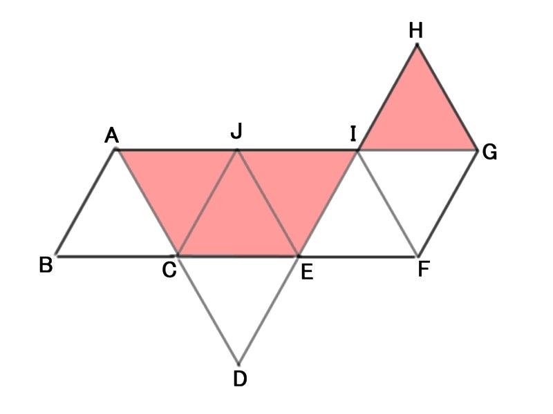 数学が嫌いなんです正八面体の展開図