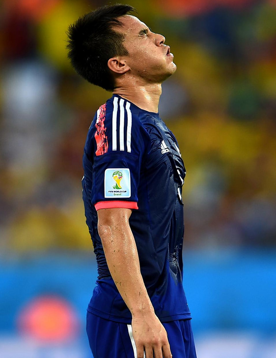 岡崎慎司 ブラジルワールドカップ W杯 日本代表 コロンビア グループC グループリーグ敗退