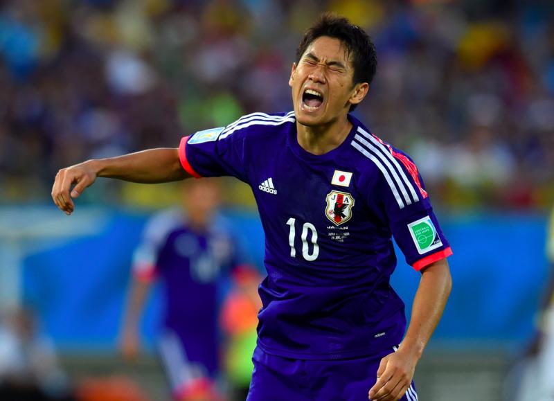 香川真司 ブラジルワールドカップ W杯 日本代表 コロンビア グループC グループリーグ敗退
