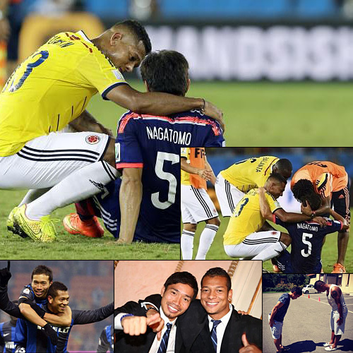 2014年ワールドカップ日本敗退。コロンビア戦