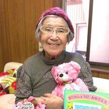 カヨ子ばあば、82歳…