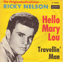 Ricky Nelson - Hello Mary Lou | ありんこの詩 blog
