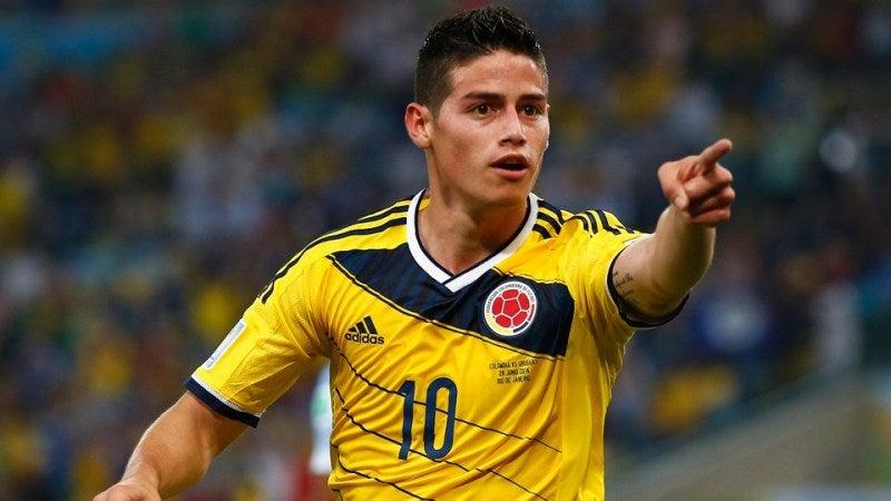 ハメス・ロドリゲス ブラジルワールドカップ W杯 ベスト8