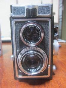 ドイツ製二眼レフカメラ「イコフ...