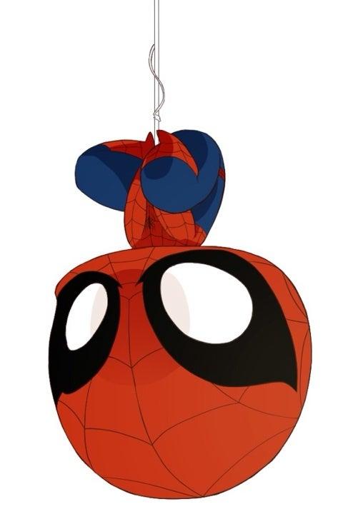 ぶら下がりスパイダーマン