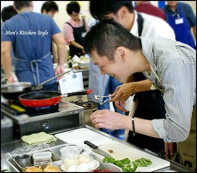 男子料理教室・メンズキッチン ハンバーグ