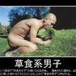 草食系男子撲滅運動!
