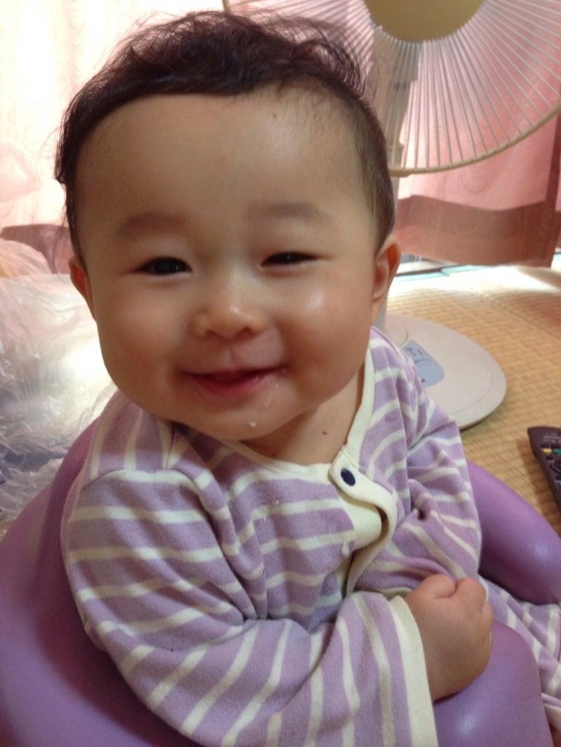 軽度でよかった\u2026とともに、やっぱり眼瞼下垂かーと凹んだけど、息子は笑顔なのでいいんです。  成長とともに変化することもあるので、1年後に再受診となりました。