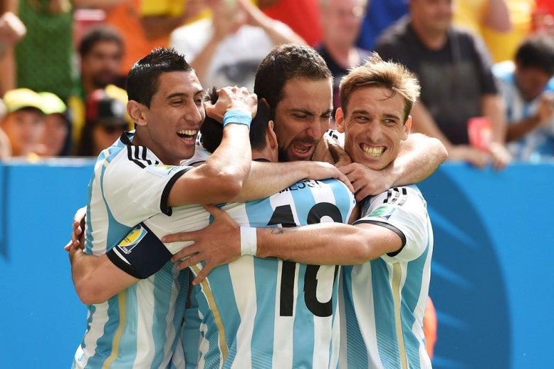 ブラジルワールドカップ W杯 準々決勝 アルゼンチン ベルギー ベスト4